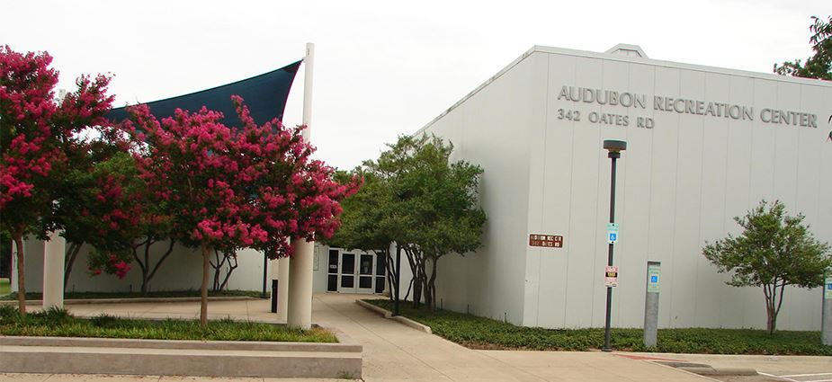 Audubon Recreation Center exterior of building